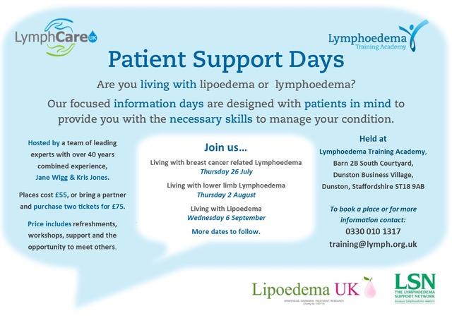 Lipoedema Patient Support days